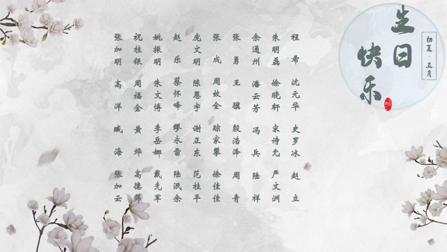 【安徽11选5走势图祝福】恭祝5月安徽11选5走势图的员工安徽11选5走势图快乐!