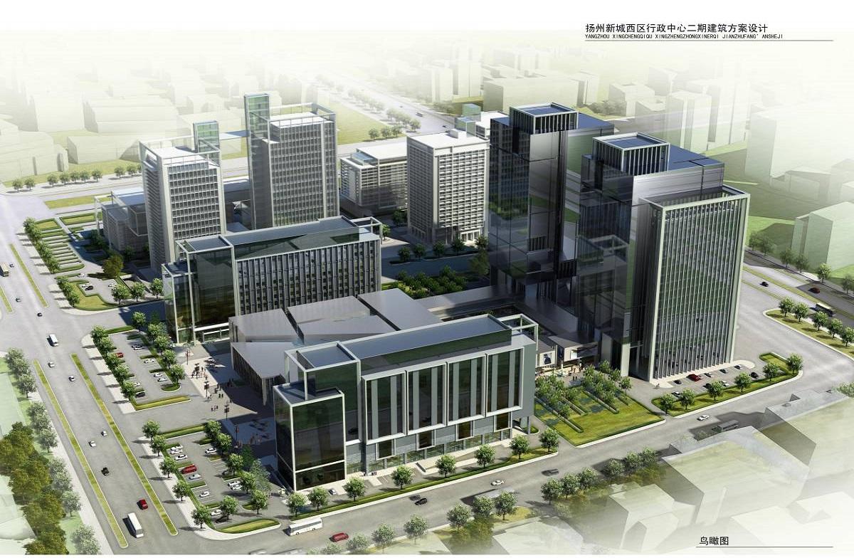 扬州新城西区商务中心二期