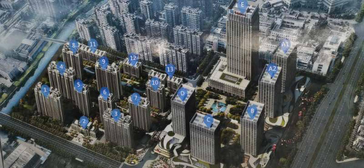扬州联创国际软件园A、C地块5#、6#、9#、12#、地下室