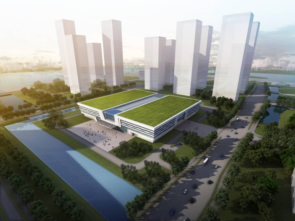 连云新城商务公共服务中心工程